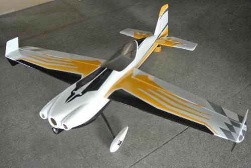 Corvus-540 30~40cc汽油飛機 (黃白色)