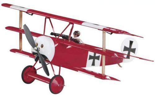 福克DR-1 小型電動飛機(巴爾沙木製)