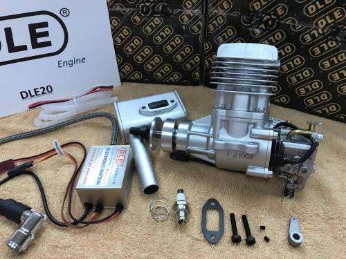 DLE-20CC[側排]汽油引擎