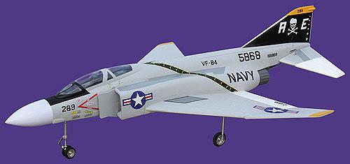 F-4電動導風扇飛機90MM