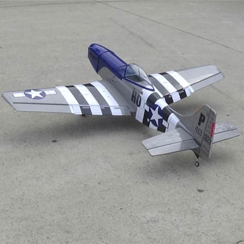 P-51二戰戰機50級與30CC2款